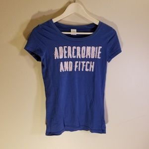 Abercrombie and Fitch blue tee